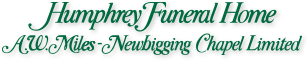 Humphrey Funeral Home A.W.Miles-Newbigging Chapel Limited